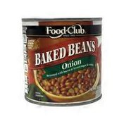 Food Club Baked Beans Seasoned With Brown Sugar, Onion & Bacon