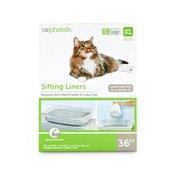 So Phresh Sifting Cat Litter Pan Liners