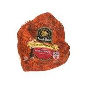 Boar's Head Cracked Pepper Mill Smoked Turkey Breast