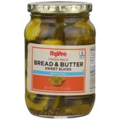 Hy-Vee Bread & Butter Sugar Free Sweet Slices