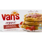 Van's Whole Grain Organic Waffles, Totally Original