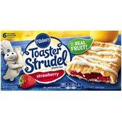Pillsbury Toaster Strudel Strawberry Toaster Pastries
