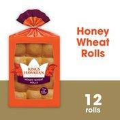 King's Hawaiian Honey Wheat Rolls
