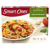 Smart Ones Angel Hair Pasta Marinara with Spinach & Zucchini Frozen Meal