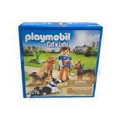 Playmobil City Life Dog Trainer Toy