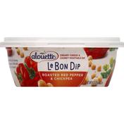 Alouette Dip, Le Bon, Roasted Red Pepper & Chickpea