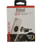 Steelie Orbiter Vent Kit, Ultra Thin
