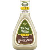 Ken's Steak House Dressing, Lite, Sweet Vidalia Onion