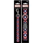 Buckle-Down Large Captain America Dog Leash & Collar Set