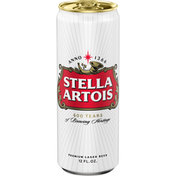 Stella Artois Beer, Lager, Premium