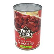 First Street Diced Fire Roasted Tomatoes With Garlic