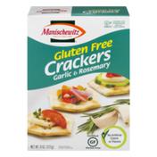 Manischewitz Gluten Free Crackers Garlic & Rosemary