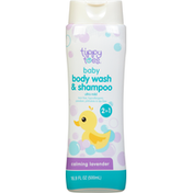 Tippy Toes Body Wash & Shampoo, 2 in 1, Calming Lavender, Baby