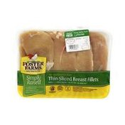 Foster Farms Simply Raised Thin Sliced Chicken Breast Fillets