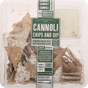 Golden Cannoli Cannoli Chips and Dip