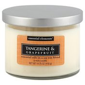 Candle Lite Candle, 3 Wick, Tangerine & Grapefruit