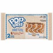 Kellogg's Pop-Tarts Pretzel Toaster Pastries, Breakfast Foods, Baked in the USA, Cinnamon Sugar Drizzle