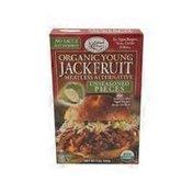 Edward & Sons Jackfruit, Young Organic, Meatless Alternative, Unseasoned Pieces