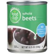 Food Club Whole Beets