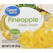 Great Value Gelatin Dessert, Pineapple