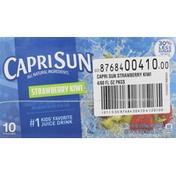 Capri Sun Juice Drink, Strawberry Kiwi, 4 Pack
