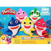 Play-Doh Baby Shark Set, Age 3+