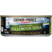 Crown Prince Yellowfin Tuna, Solid Light, in Extra Virgin Olive Oil