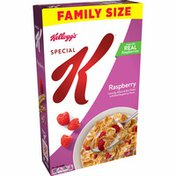 Kellogg's Special K Breakfast Cereal, 11 Vitamins and Minerals, Made with Real Raspberries, Raspberry