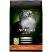 Purina Pro Plan Select Adult Limited Ingredient Diet Chicken & Barley Dog Food