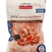Pier 33 Gourmet Argentine Red Shrimp, Wild, Raw