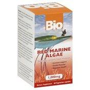 Bio Nutrition Algae, Red Marine, 1000 mg, Vegetarian Capsules