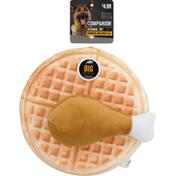 Companion Chicken & Waffle Dog Toy