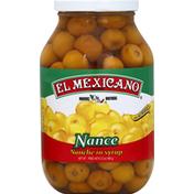 El Mexicano Nance, in Syrup