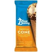 Blue Bunny Vanilla Cone