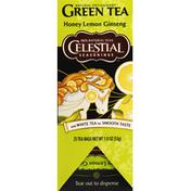 Celestial Seasonings Green Tea, Honey Lemon Ginseng
