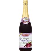 Kedem 100% Juice, Sparkling, Raspberry Grape