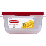 Rubbermaid Container + Lid, 5 Cups