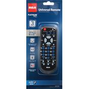 RCA Universal Remote, 3 Device, Platinum Pro
