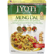 Jyoti Mung Dal, with Spinach