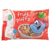 Food Club Fruit Puffz Sweetened Corn Cereal