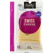 Essential Everyday Cheese, Swiss, Sliced
