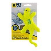 Pet Zone Refillable Catnip Toy Groovy Gecko
