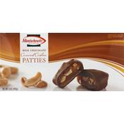 Manischewitz Caramel Cashew Patties, Milk Chocolate