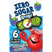 Kool-Aid Blue Raspberry On-the-Go Drink Mix Packets
