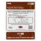 Pioneer Photo Album Refills, Magnetic