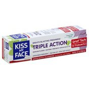 Kiss My Face Toothpaste, Anticavity Fluoride, Triple Action, Fresh Mint, Paste