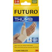Futuro Thumb Stabilizer, Deluxe, Moderate Stabilizing Support, Small-Medium