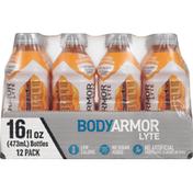 BODYARMOR Sports Drink, Orange Clementine, 12 Pack