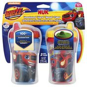 NUK Cups, Insulated Hard Spout, Blaze and the Monster Machines, 12+ Months, 9 Ounce