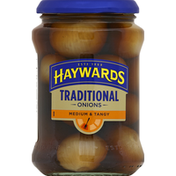 Haywards Onions, Traditional, Medium & Tangy